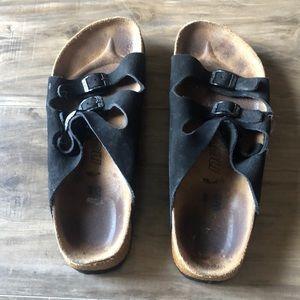 Newalk by Birkenstock black sandals